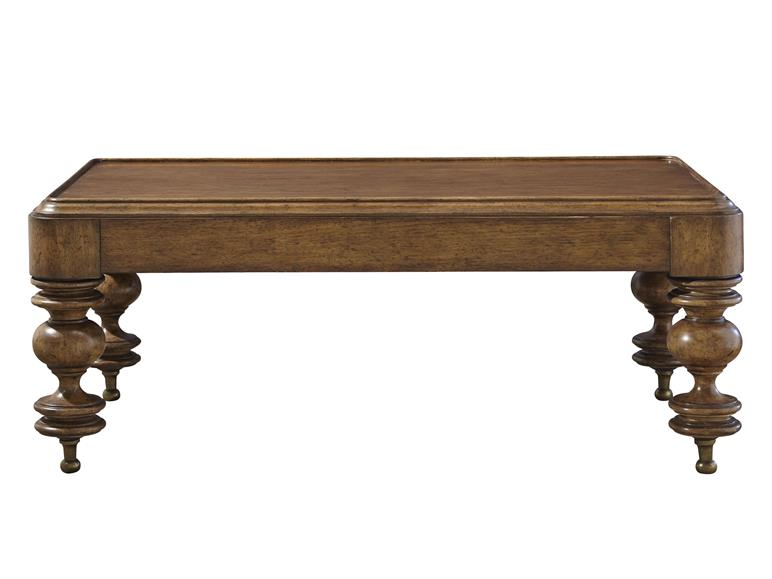 Tuscan Rectangular Cocktail Table