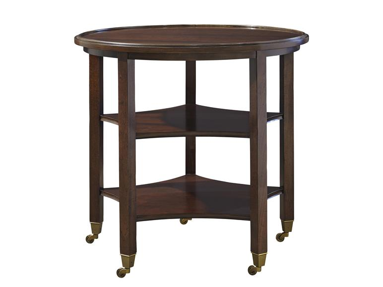 Breton Round End Table