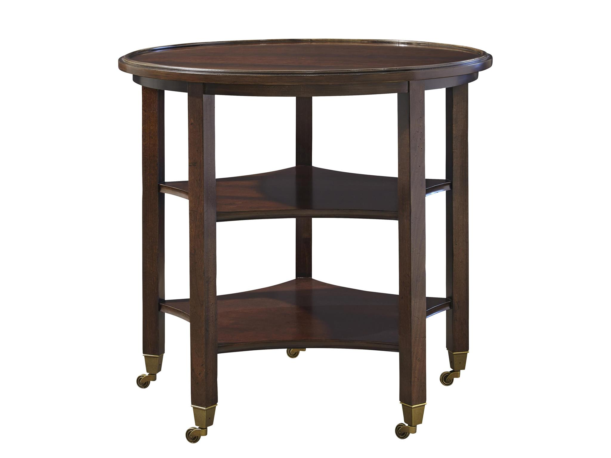 Universal Furniture To The Trade To The Trade Breton Round End Table