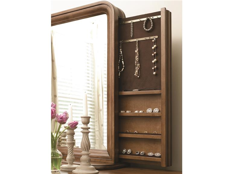 Universal Furniture New Lou Vertical Storage Mirror