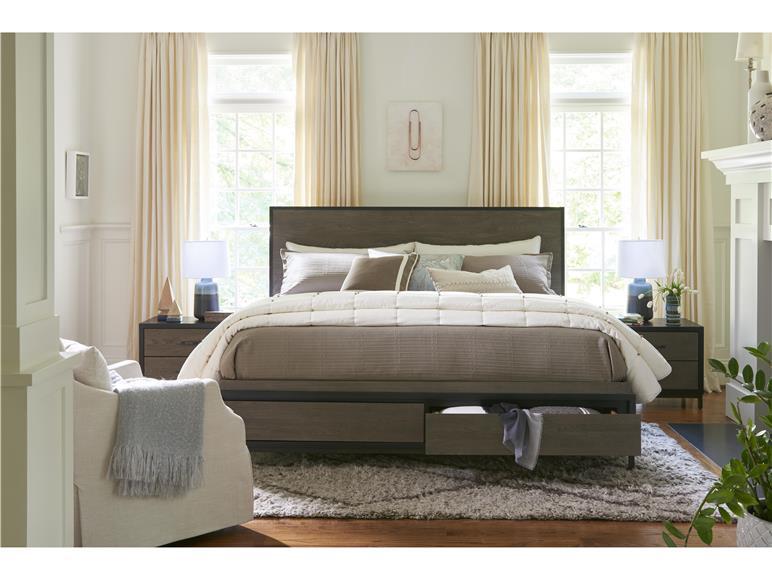 Spencer King Storage Bed