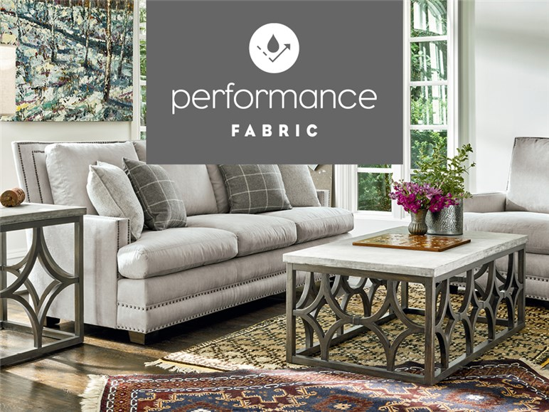 Industry leading performance fabrics Image. Universal Furniture