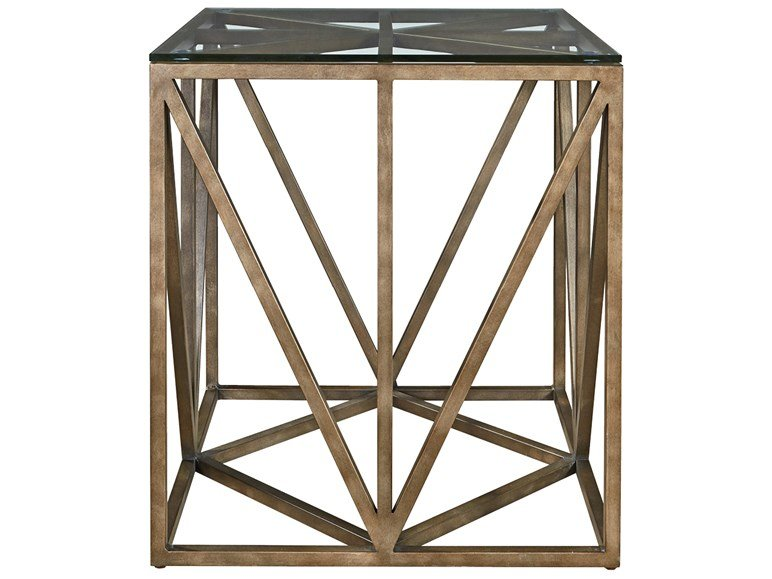 Authenticity Truss Square Cocktail Table Universal Furniture