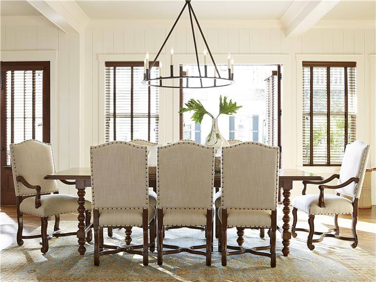 universal furniture | dogwood-paula deen home | dogwood dinner table