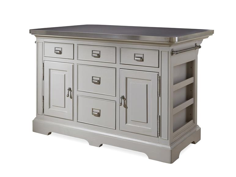 Furniture For The Kitchen | Universal Furniture Dogwood Paula Deen Home The Kitchen Island
