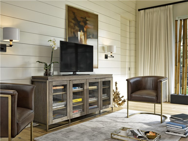 Universal Furniture Modern Wesley Entertainment Console