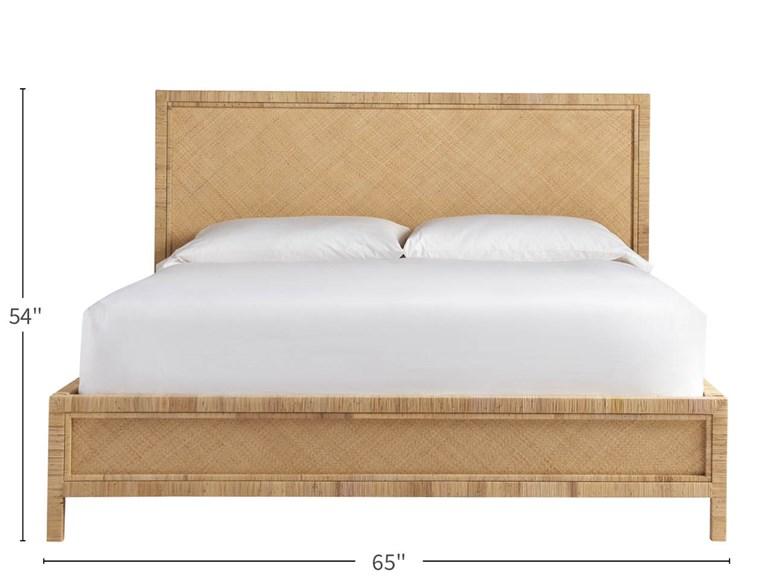 Long Key Queen Bed