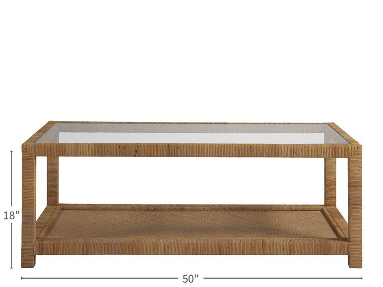 Long Key Cocktail Table