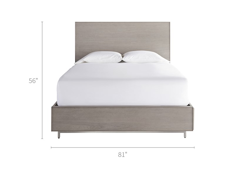 Tanner King Bed with Storage Rails