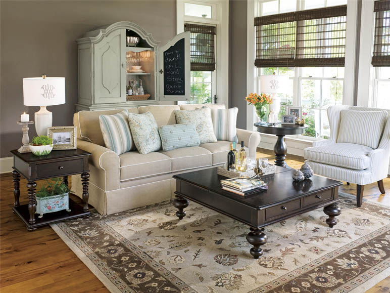 Universal Furniture | Paula Deen Home | Put Your Feet Up Table