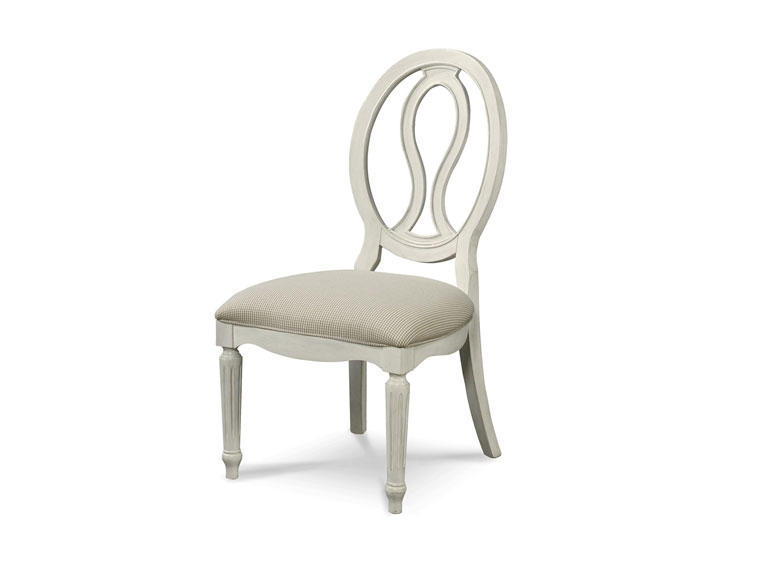 Pierced Back Side Chair