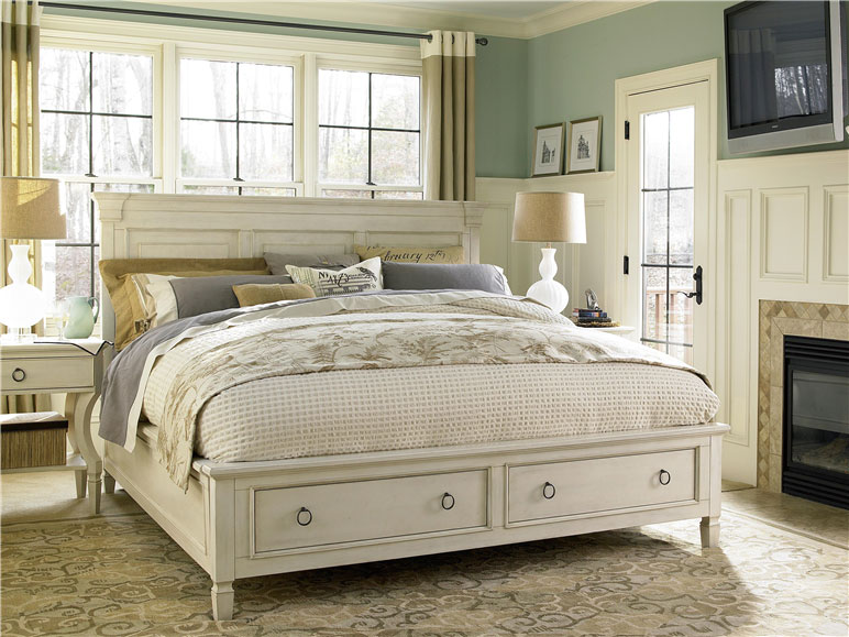 Universal Furniture Summer Hill Storage Bed Queen