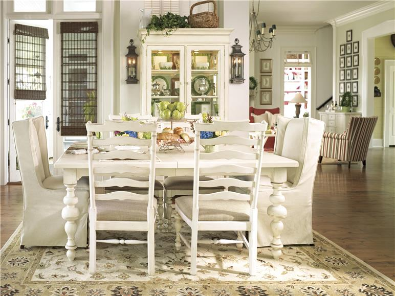universal furniture | paula deen home | linen | dining room