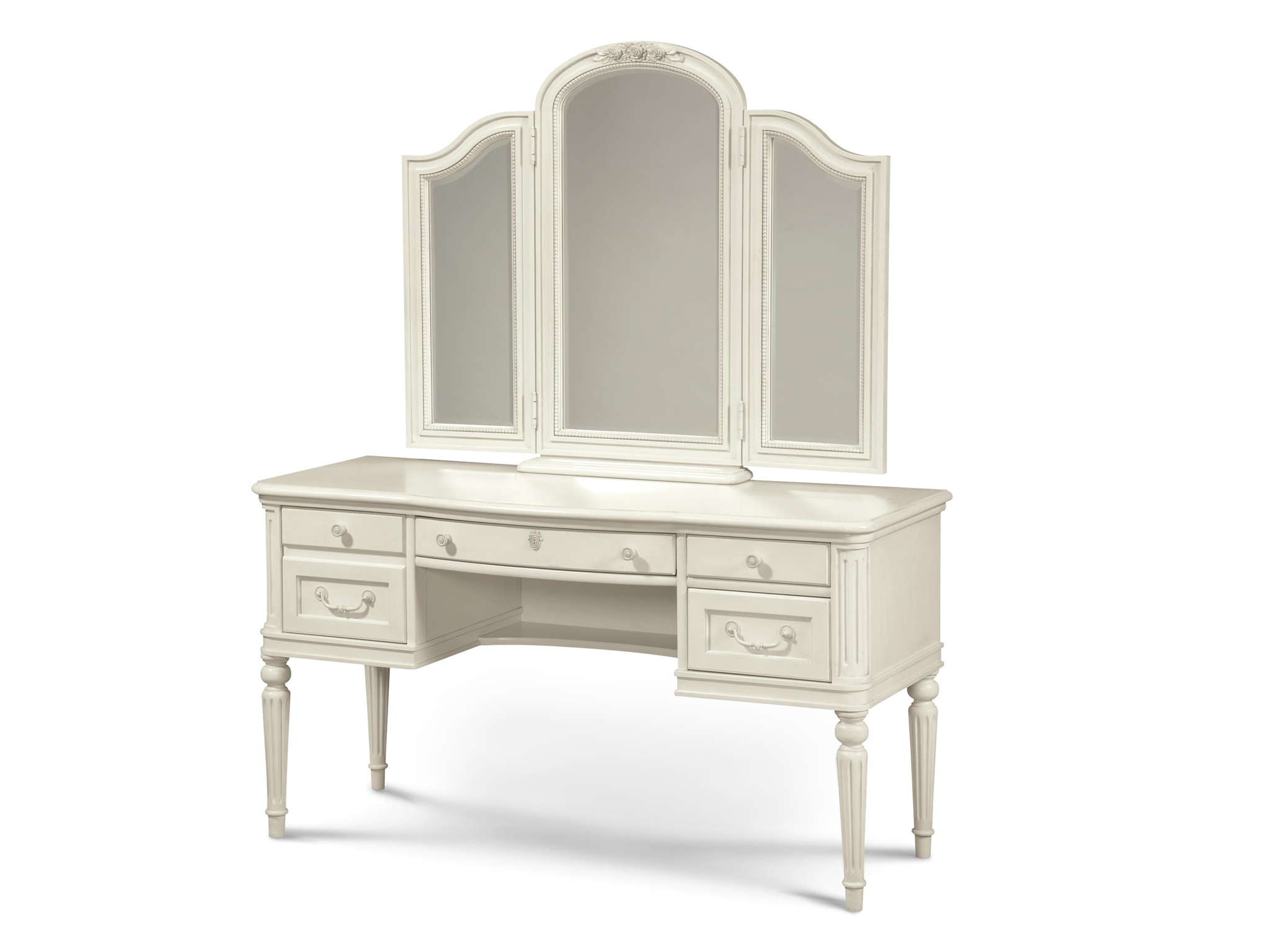 finish platinum in metallic coaster vanity itm desk