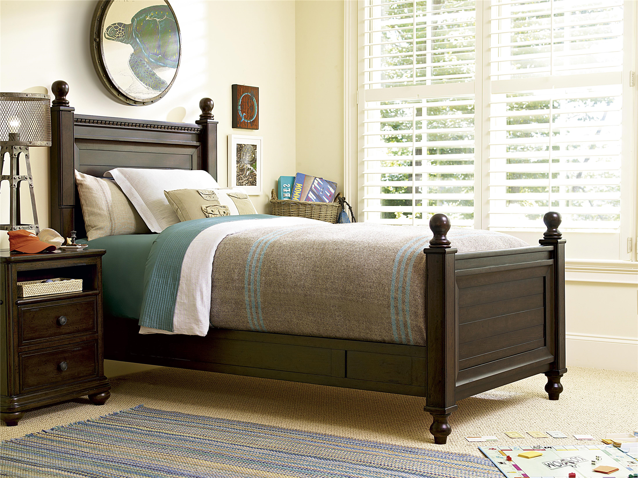 smartstuff Furniture | Paula Deen Guys | Guy\'s Reading Bed (Twin)