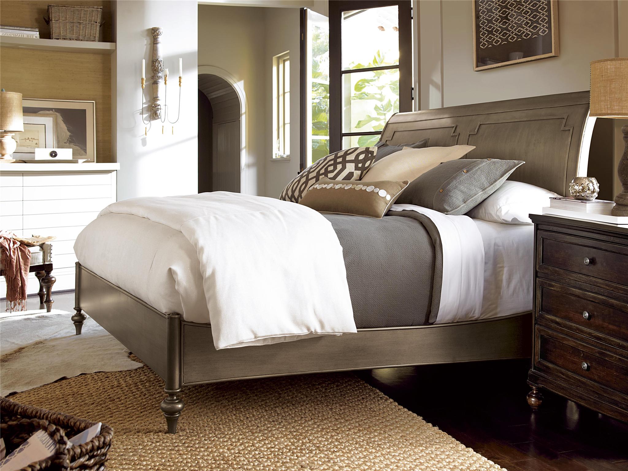 Urban Sleigh Bed (King)