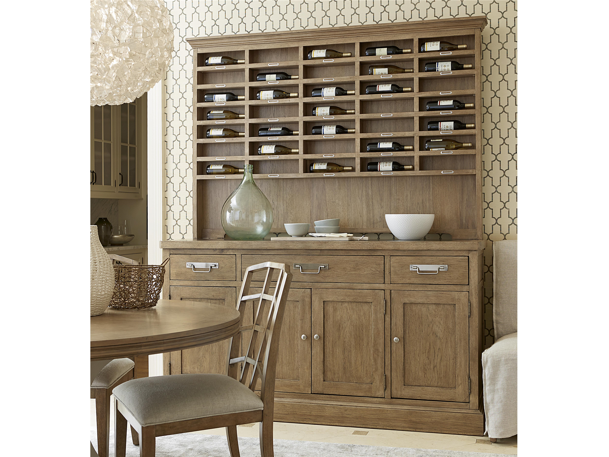 Sideboard with Sommelier's Hutch