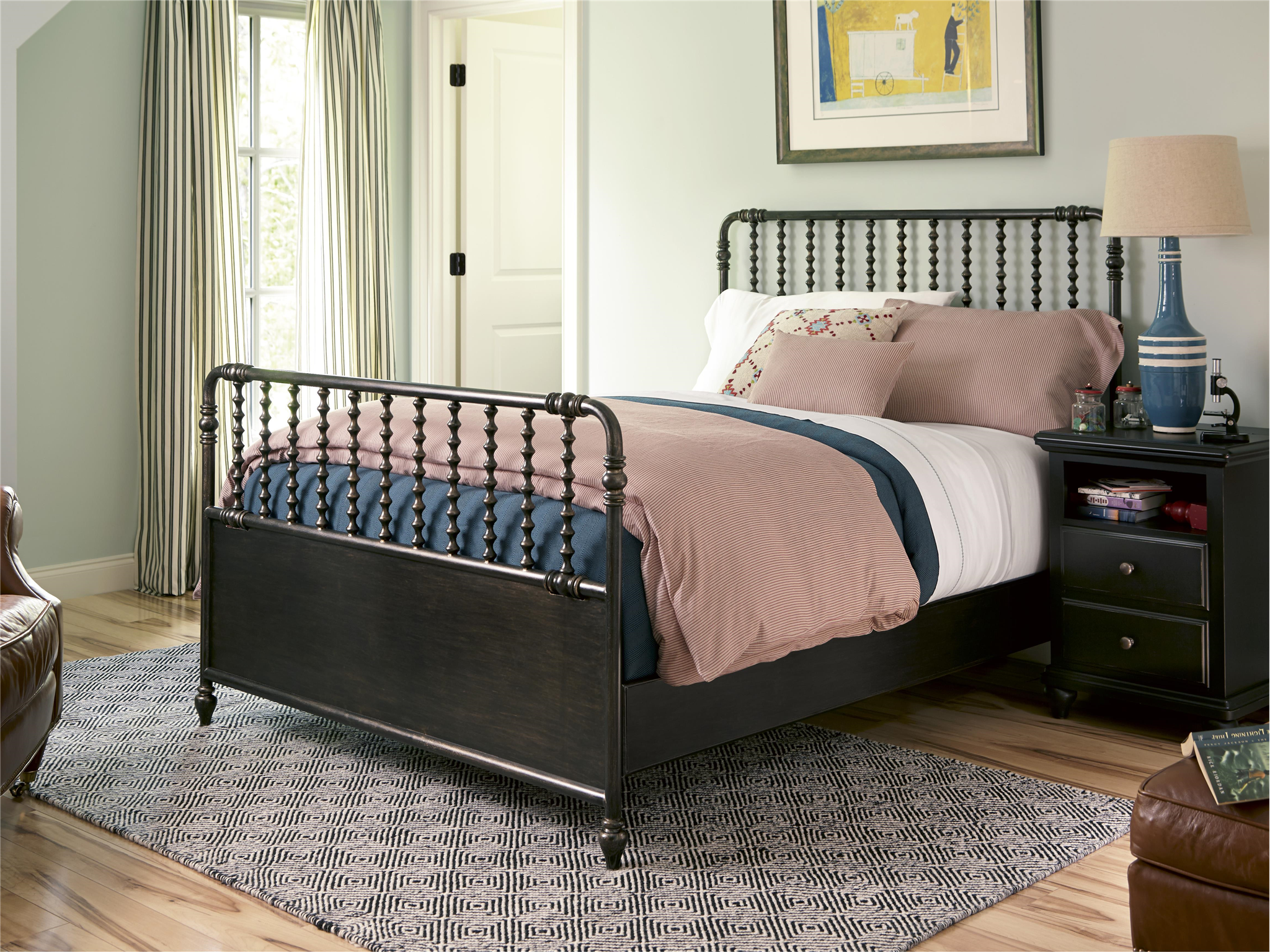 American Classic Metal Bed (Full)