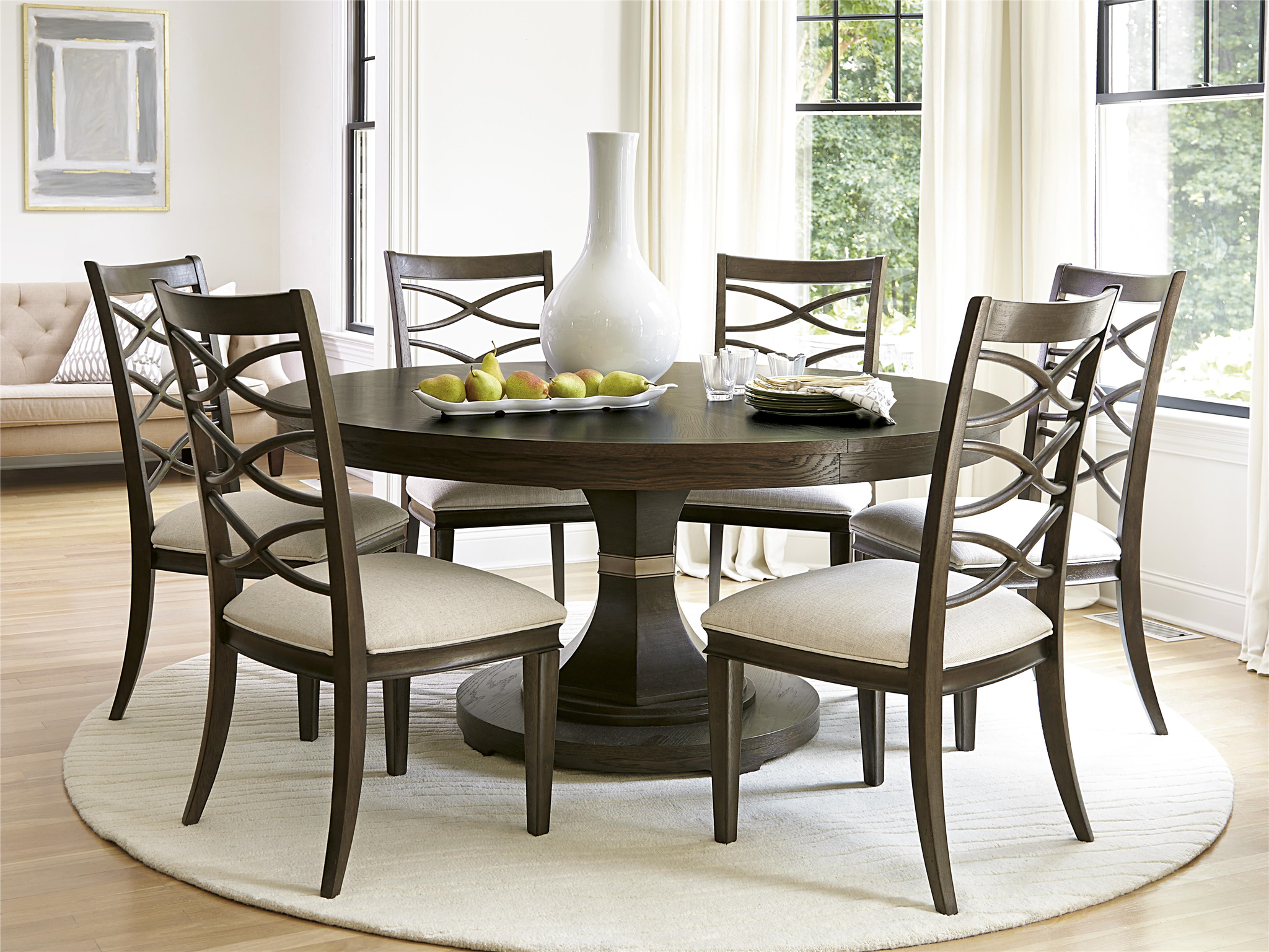 Round Dining Room Table universal furniture | california | round dining table