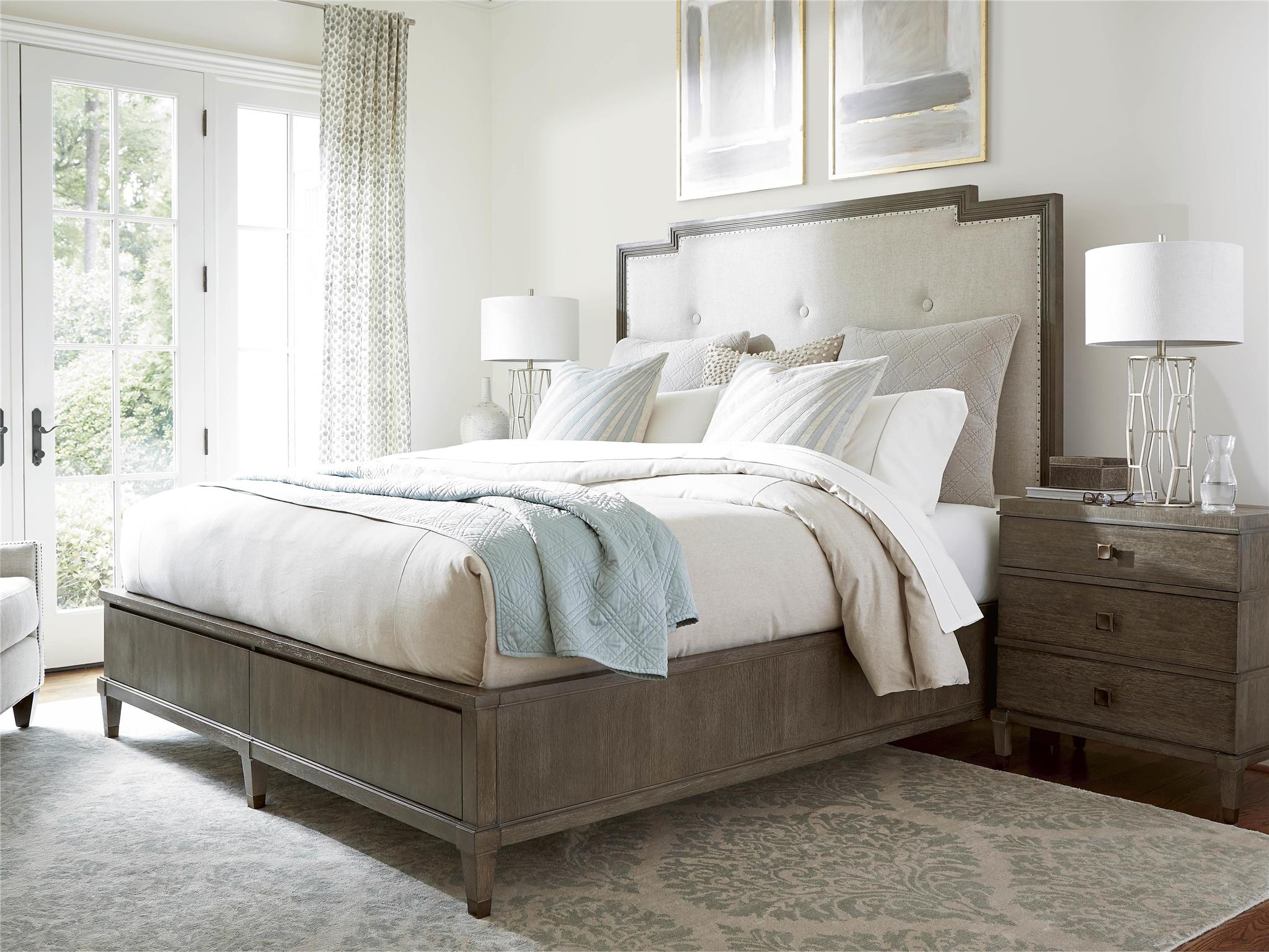Harmony Cal King Bed with Storage