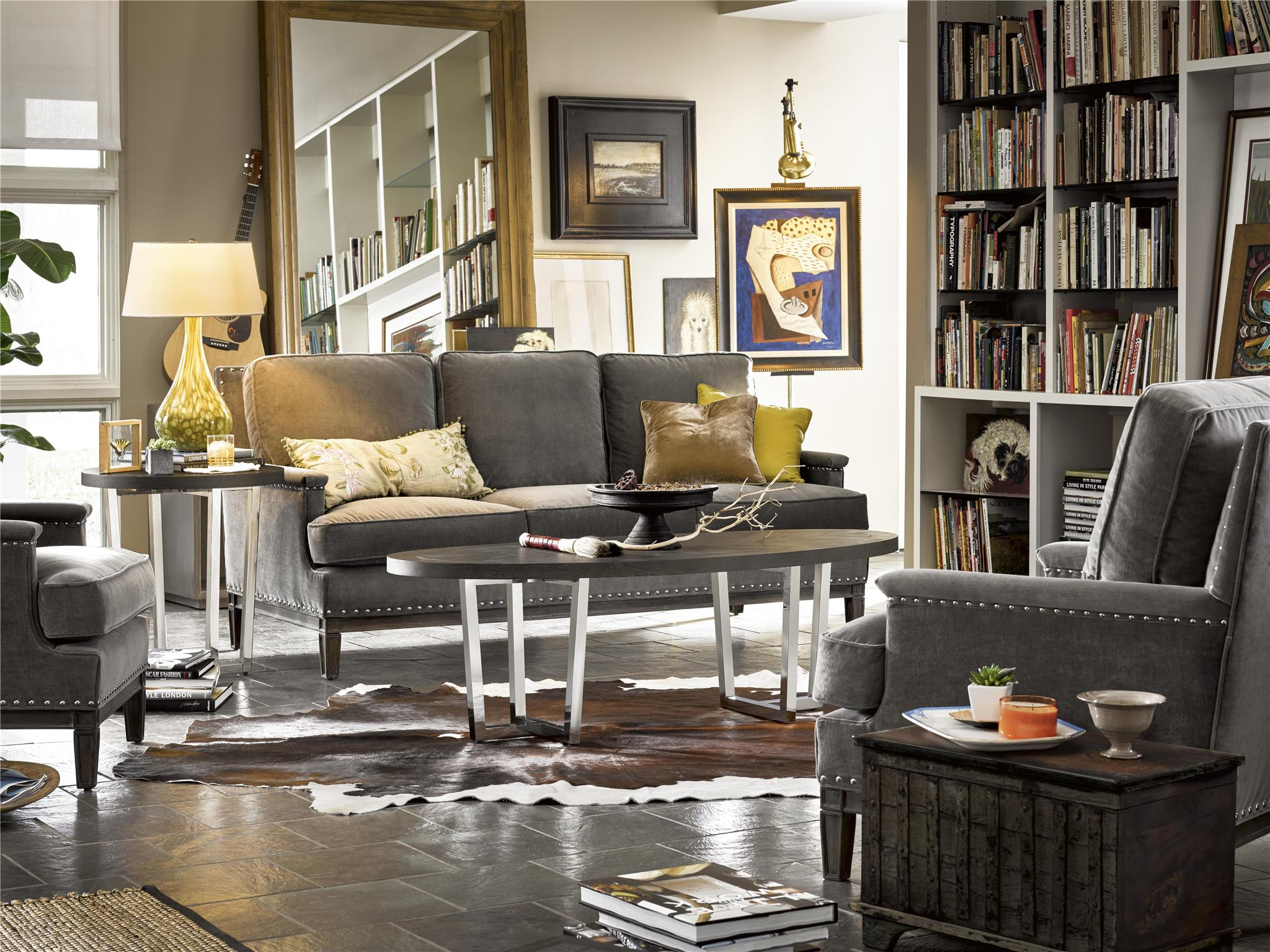 Universal Furniture Curated Dorchester End Table