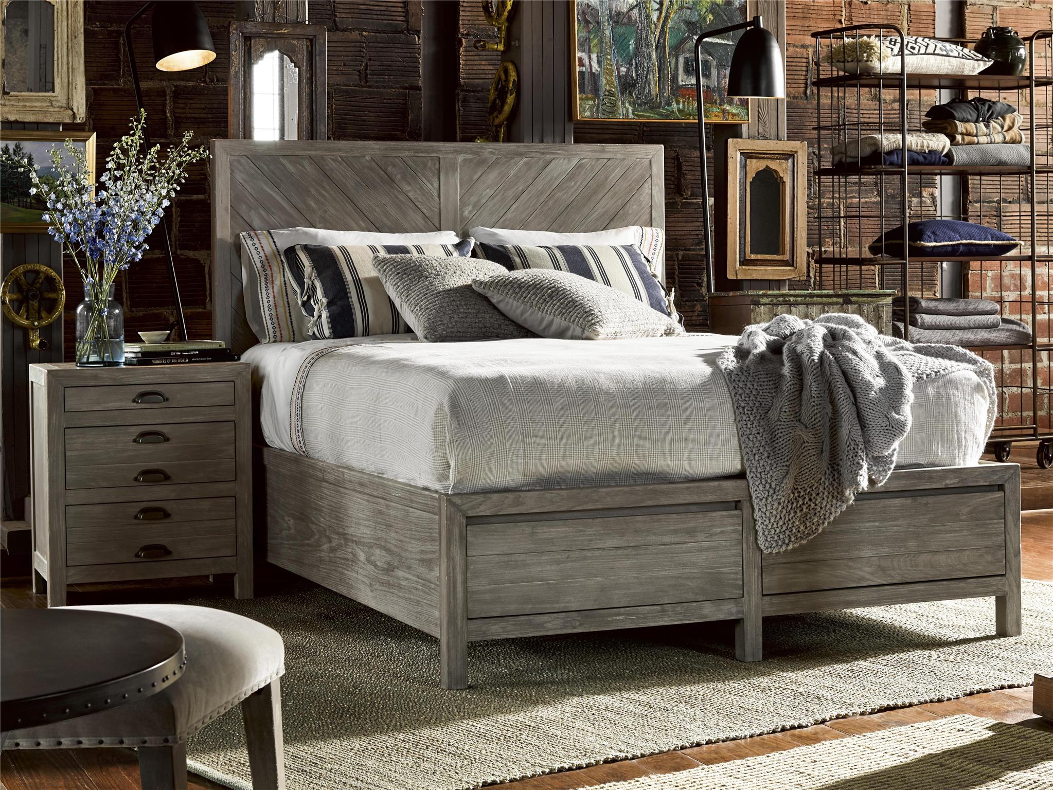 Universal Furniture Curated Biscayne Bed Queen