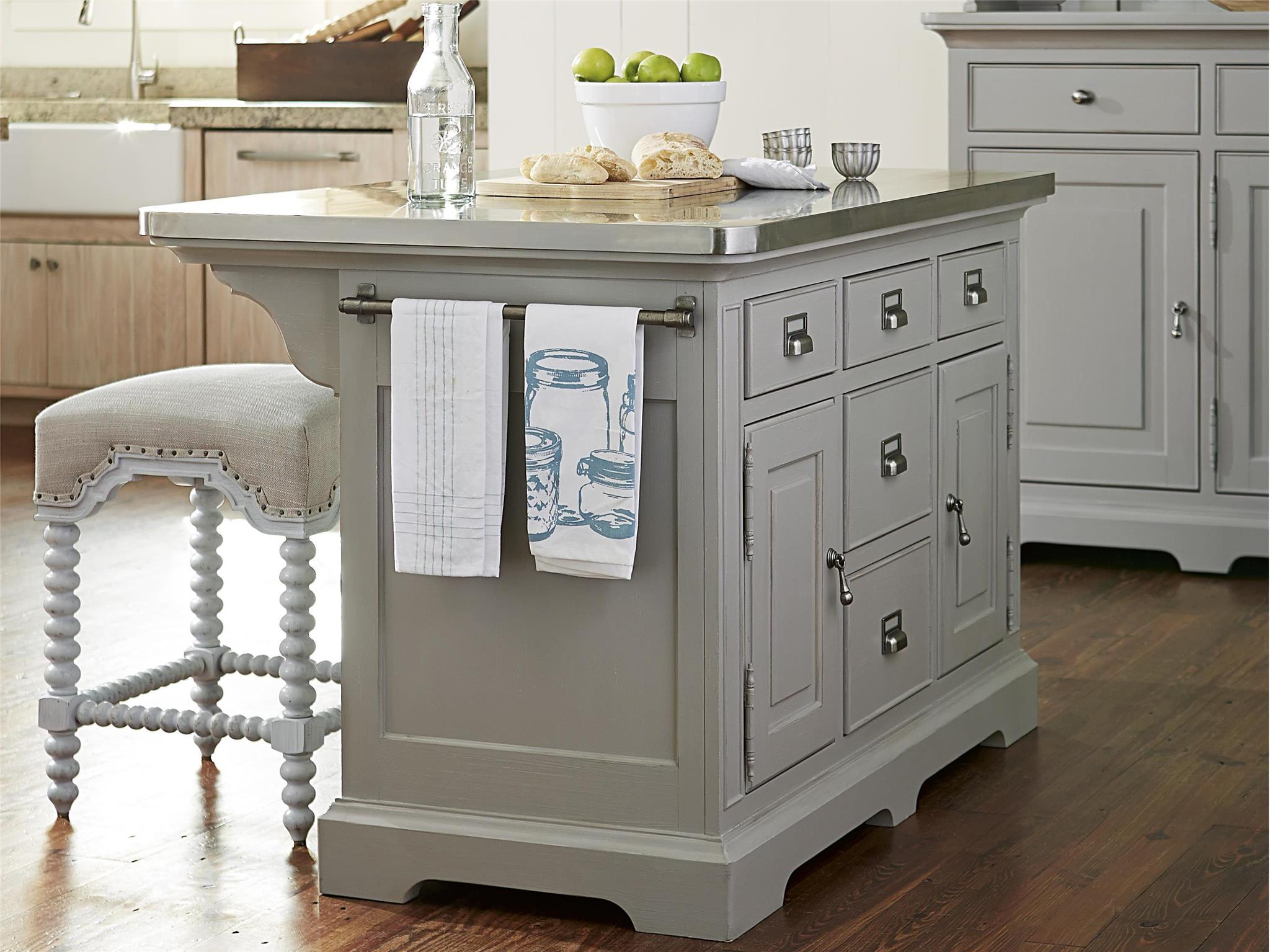 Furniture Kitchen Island Universal Furniture Dogwood The Kitchen Island