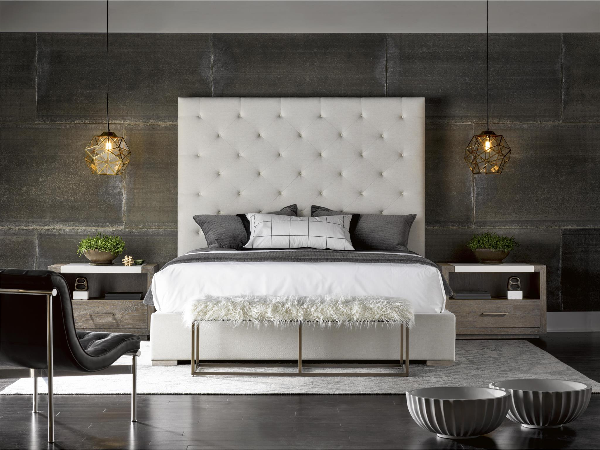 Universal Furniture Modern Brando King Bed