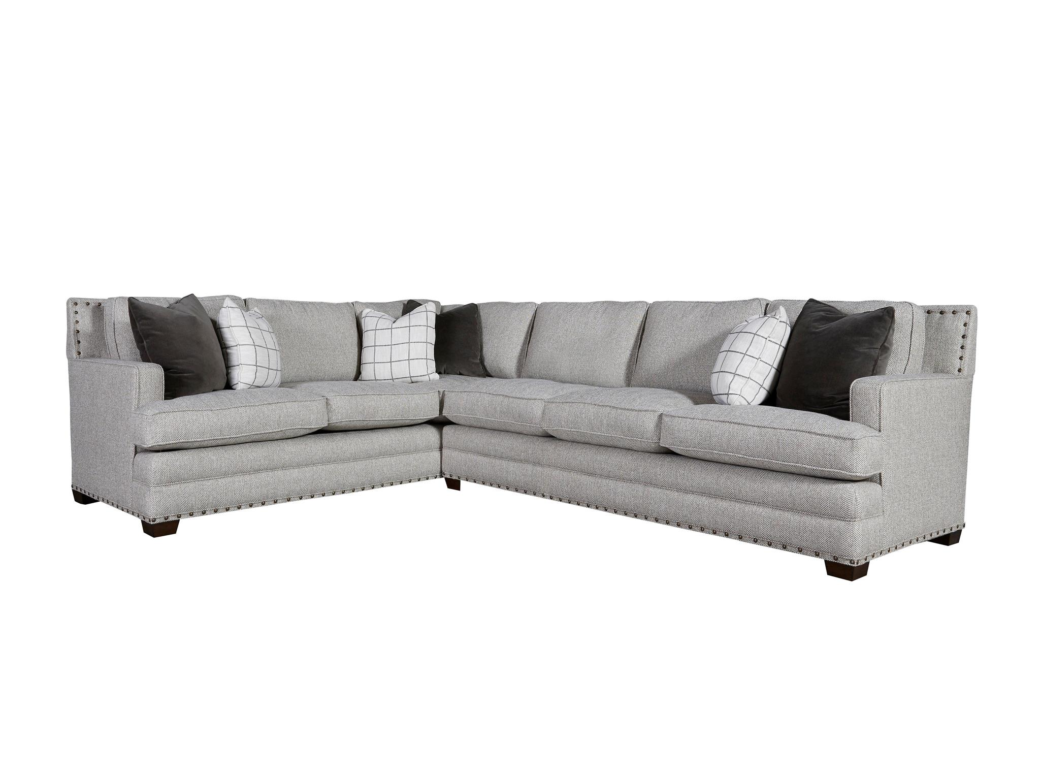 Universal Furniture Curated Riley Sectional Right Arm