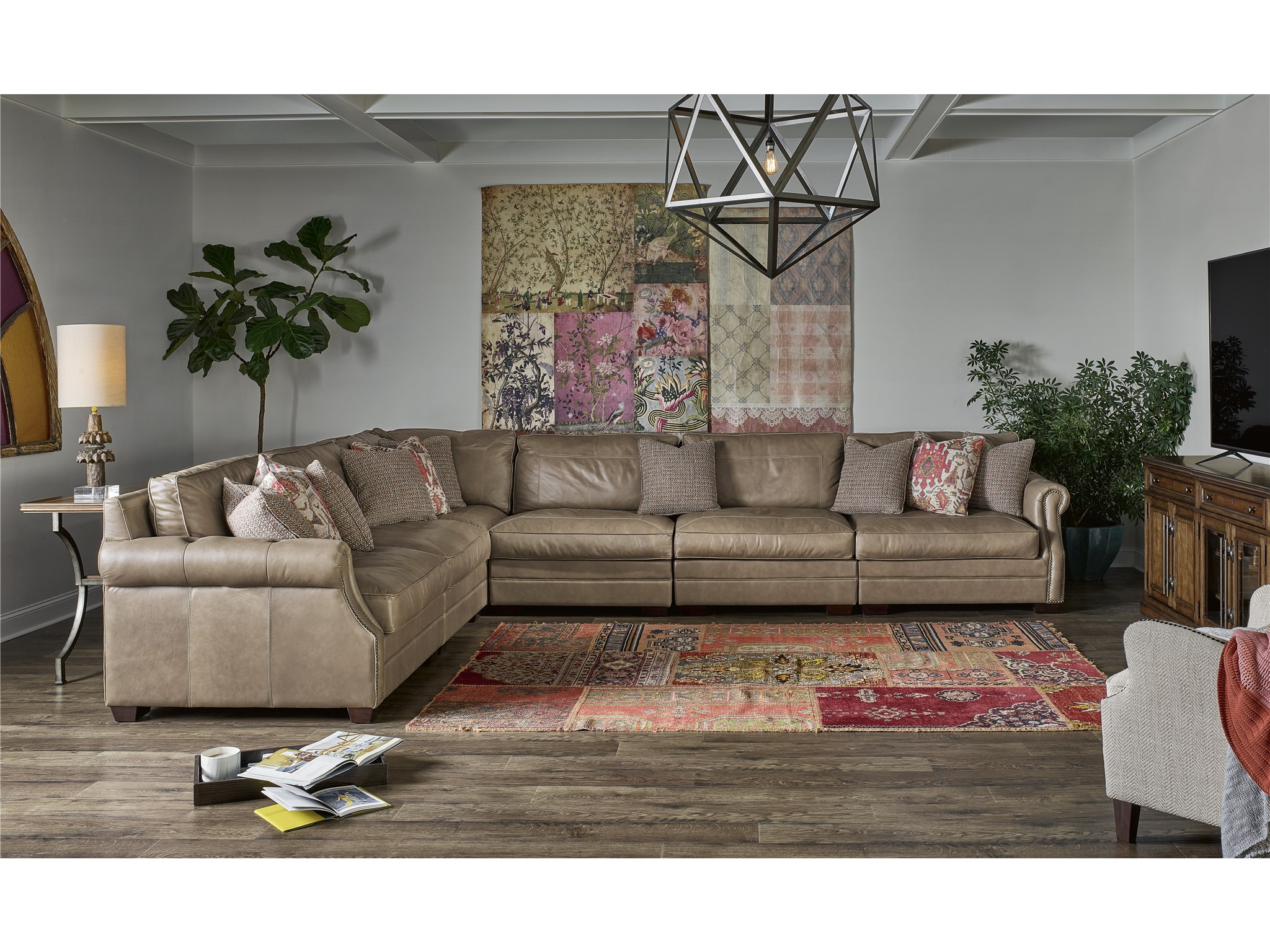 Curated Carrington Sectional Universal Furniture
