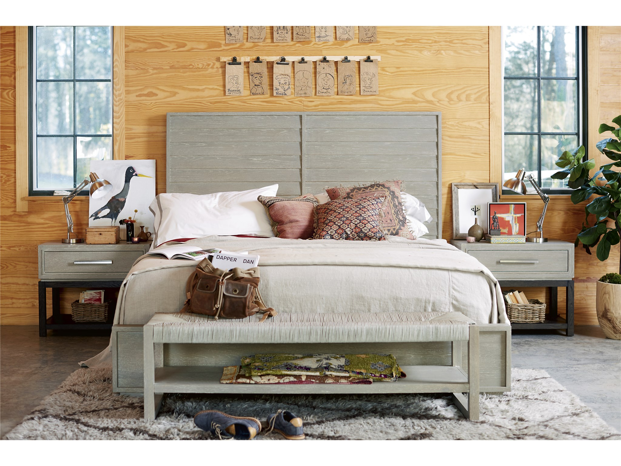 Bench By Bed: Zephyr Bed End Bench