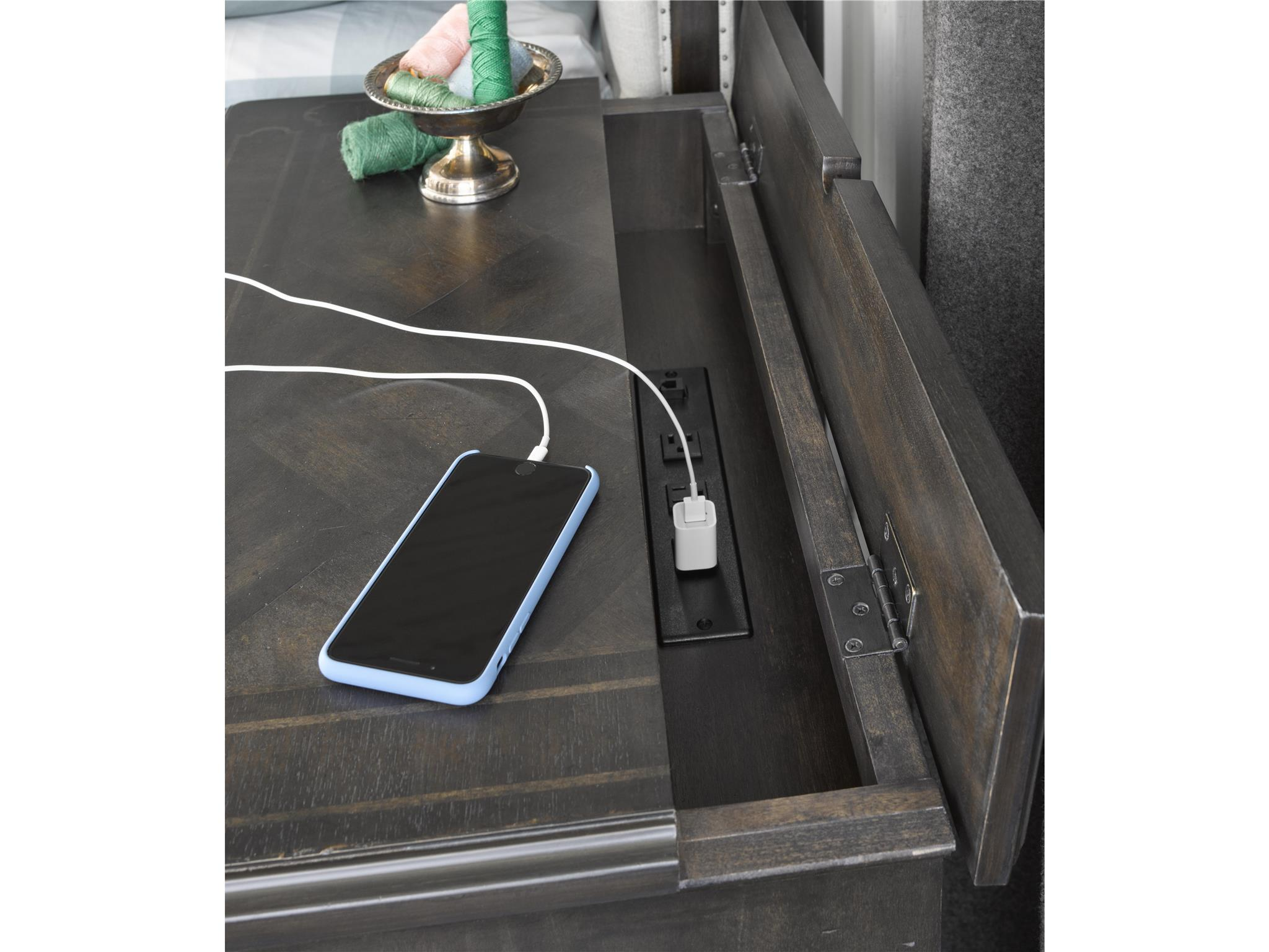 Universal Furniture Postscript Button Front Nightstand