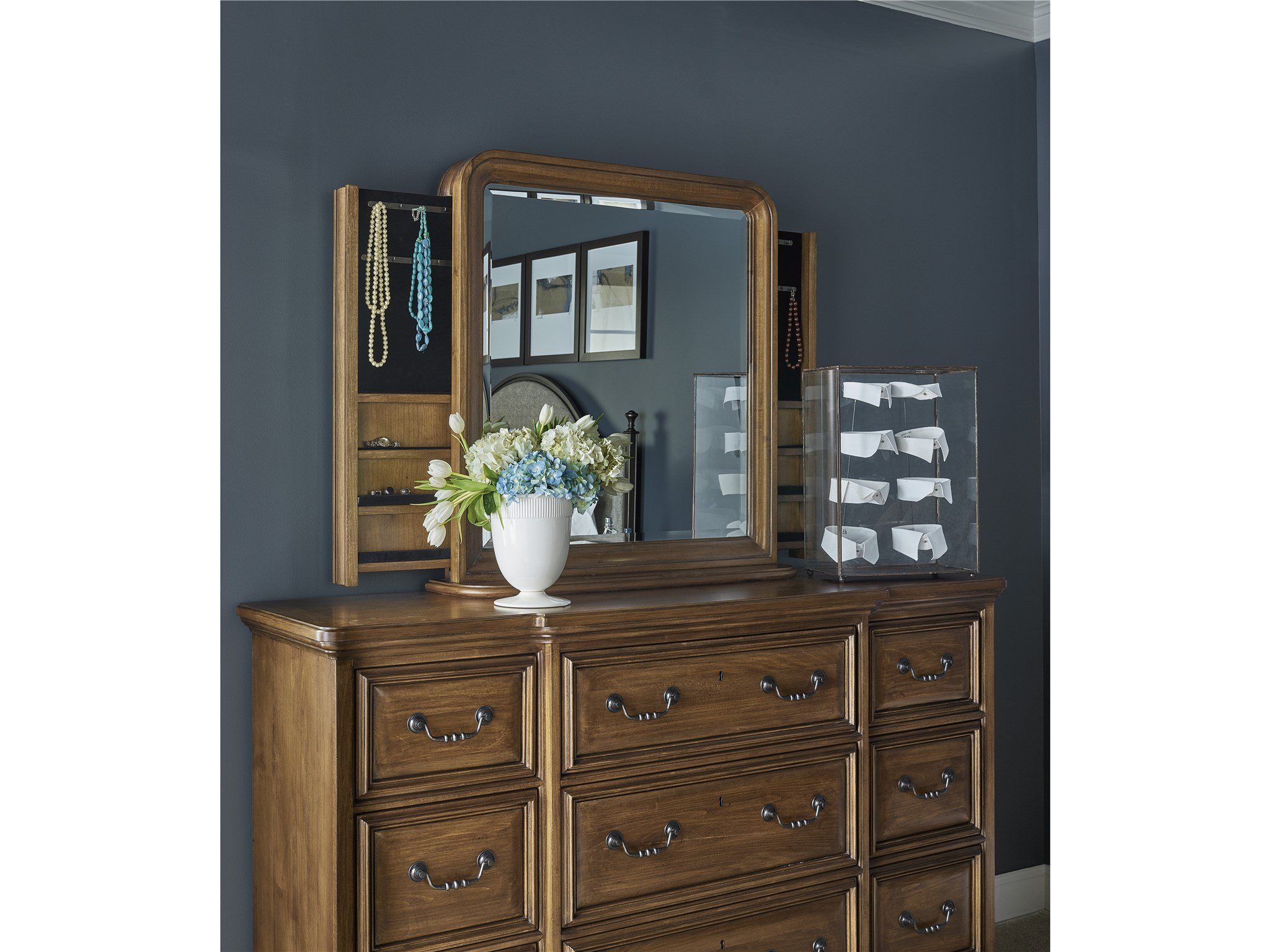 Traditions Kingsbury Storage Mirror Universal Furniture