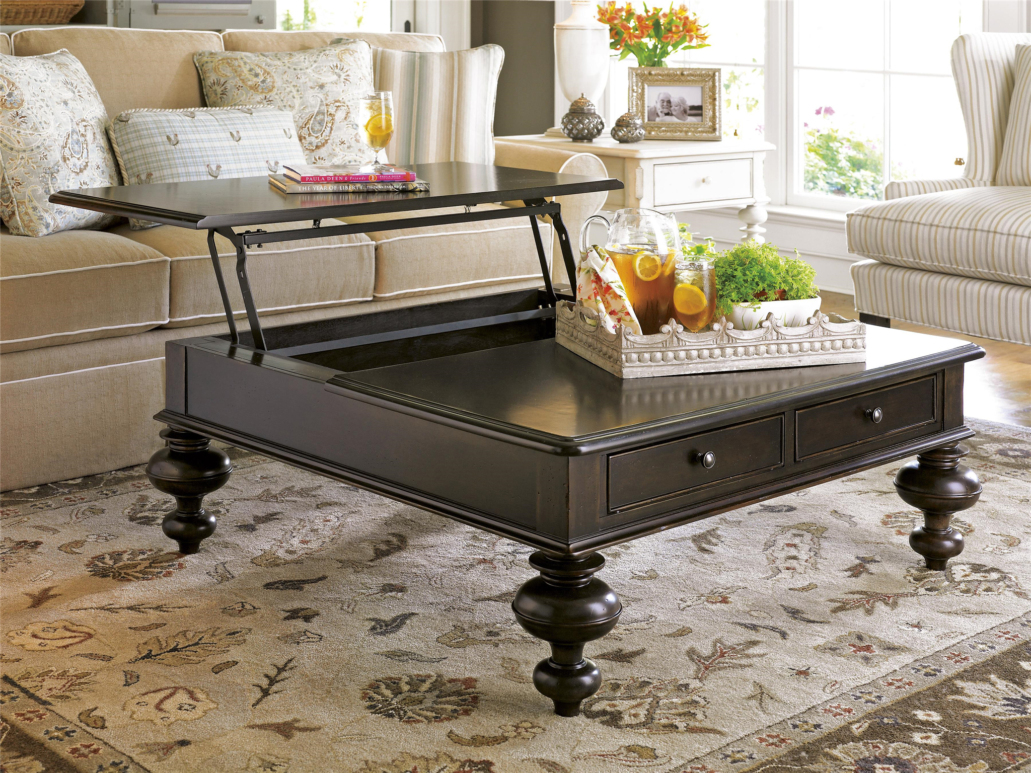 Put Your Feet Up Table  Loading zoom. Universal Furniture   Paula Deen Home   Put Your Feet Up Table