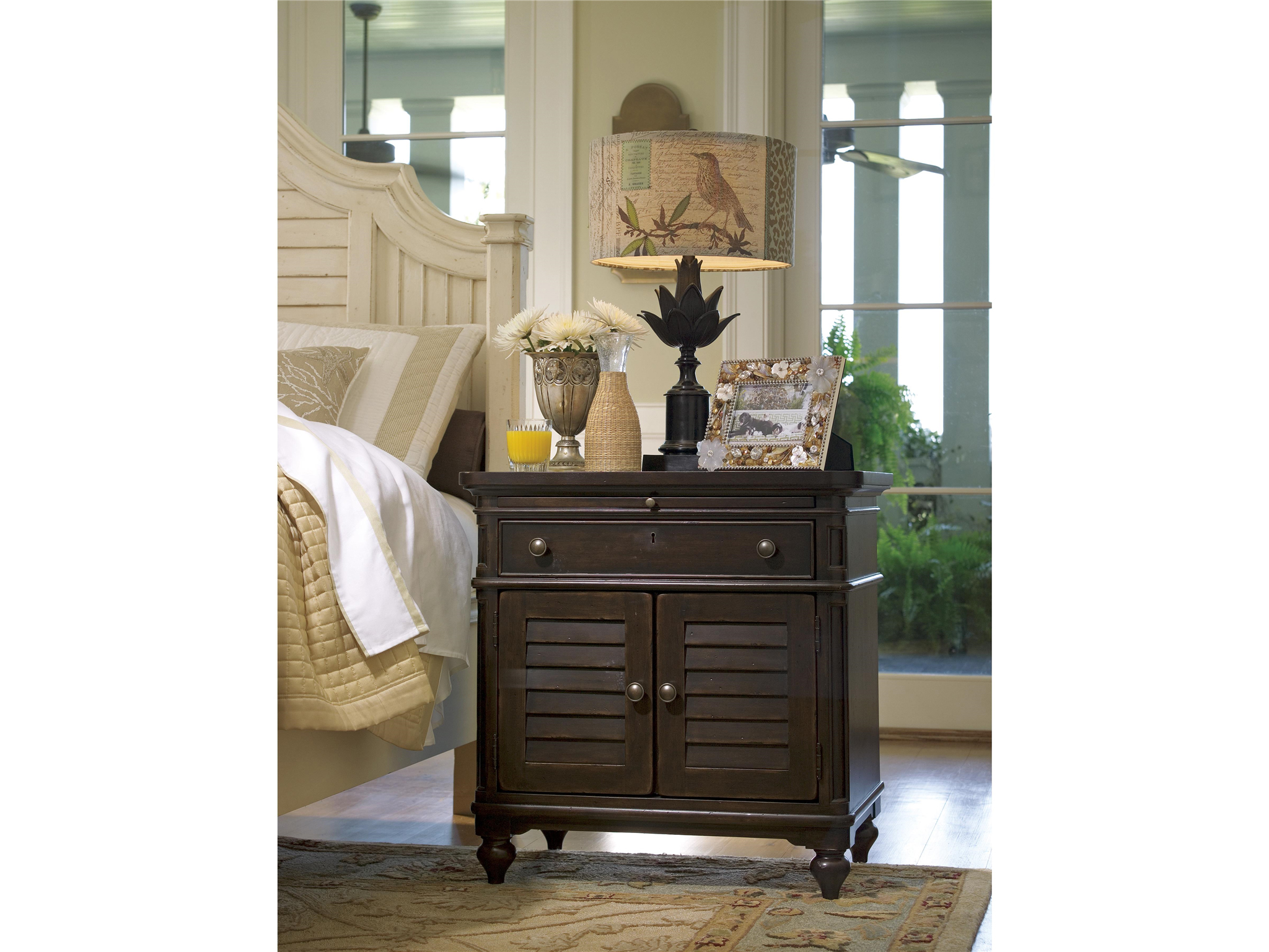 Door Nightstand  Loading zoom. Universal Furniture   Paula Deen Home   Door Nightstand