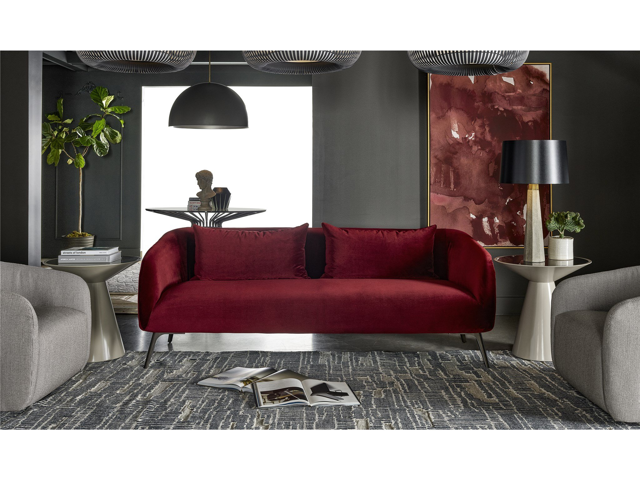 Nina Magon Moulin Sofa Universal Furniture