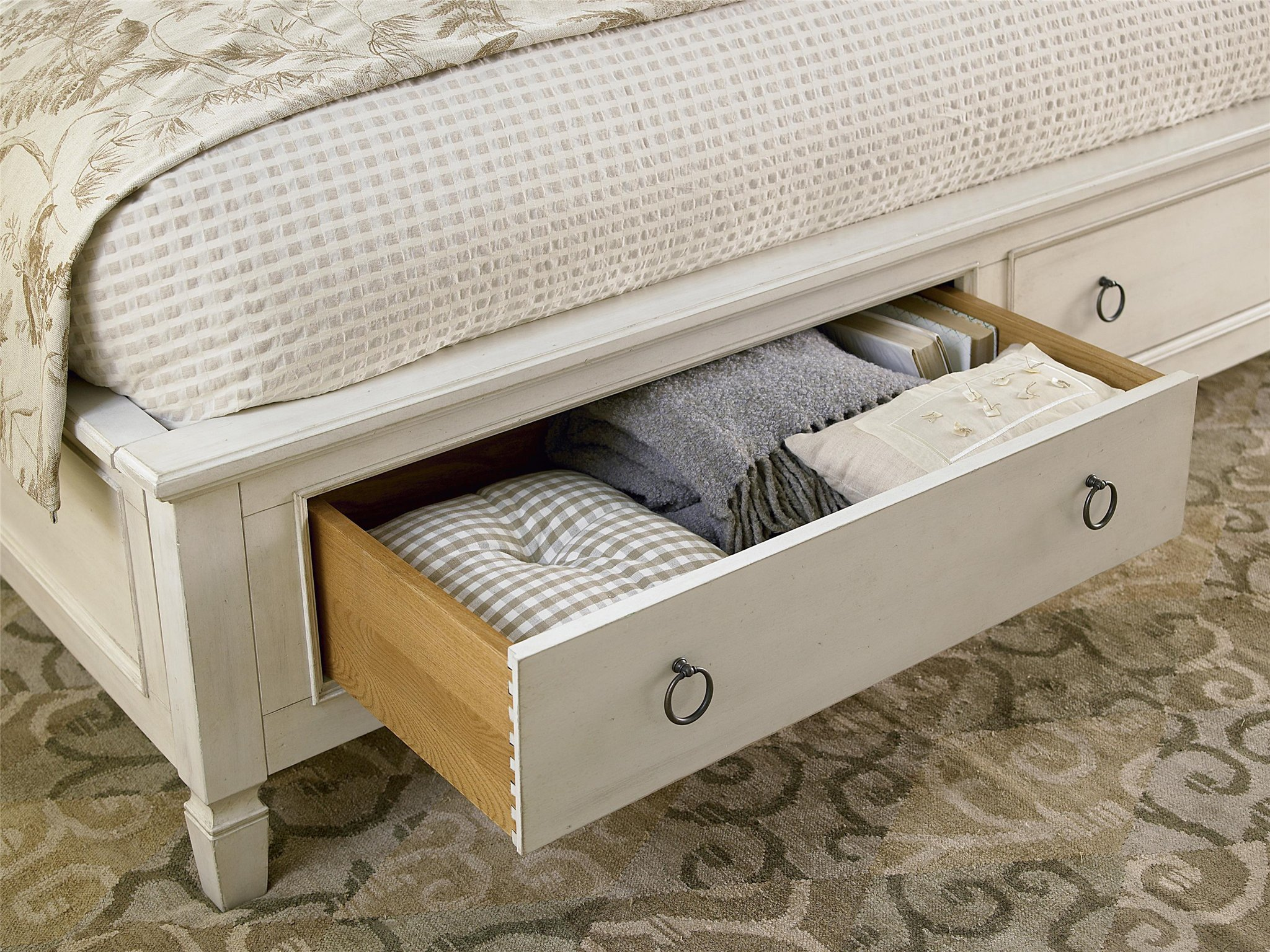 Storage King Bed