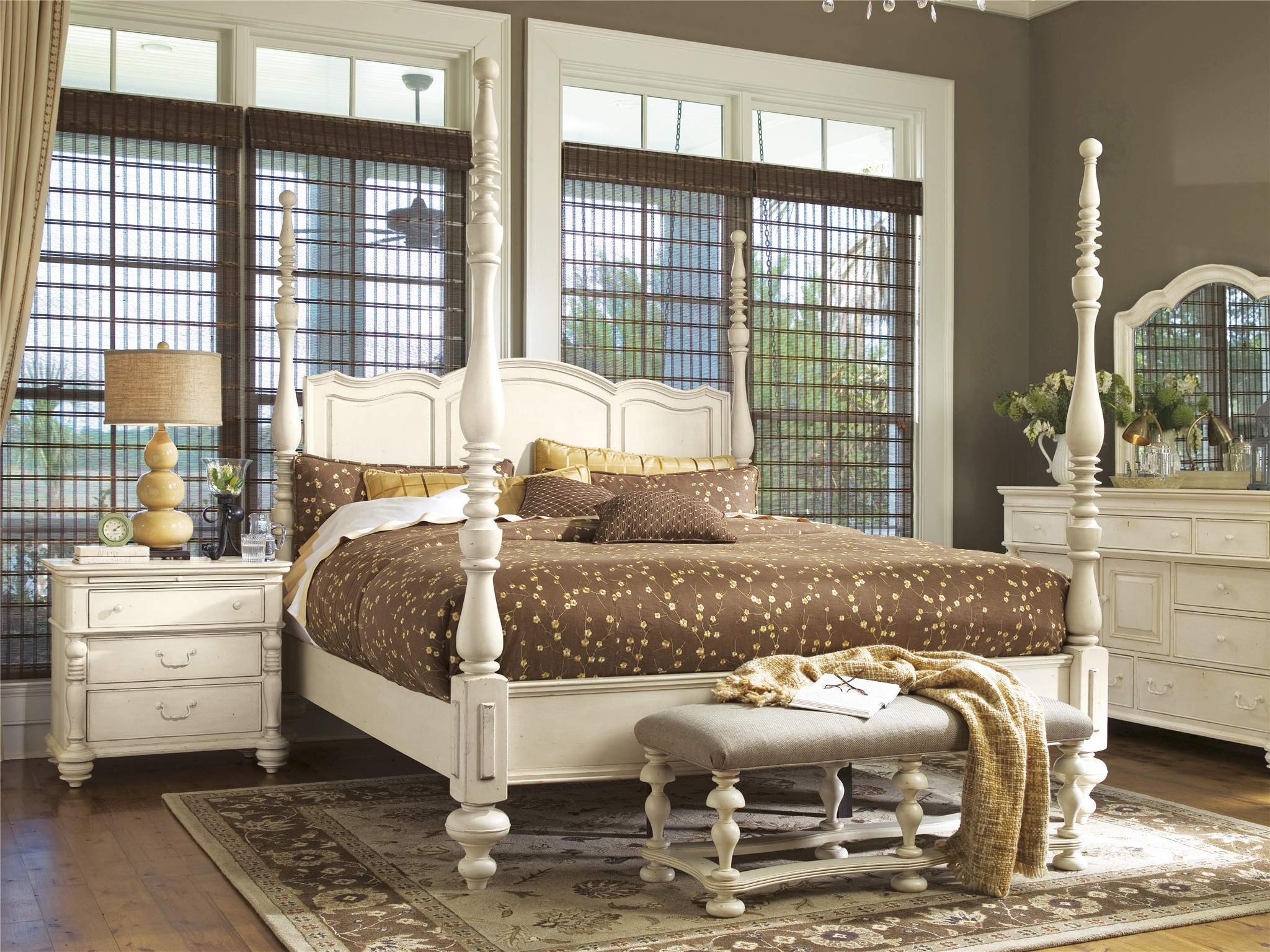Paula Deen Bedroom Furniture Collection Steel Magnolia Universal Furniture Paula Deen Home Savannah Poster Bed Queen