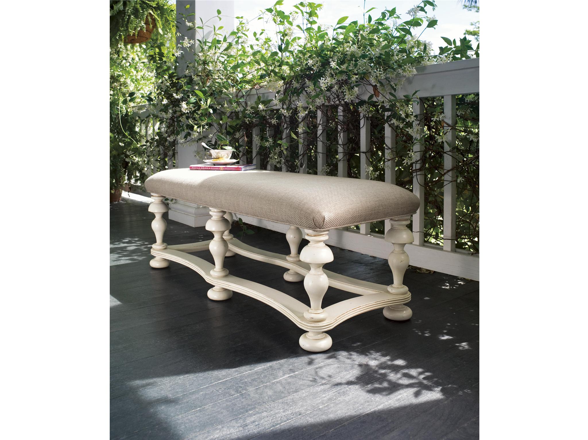 Universal Furniture Paula Deen Home Bed End Bench