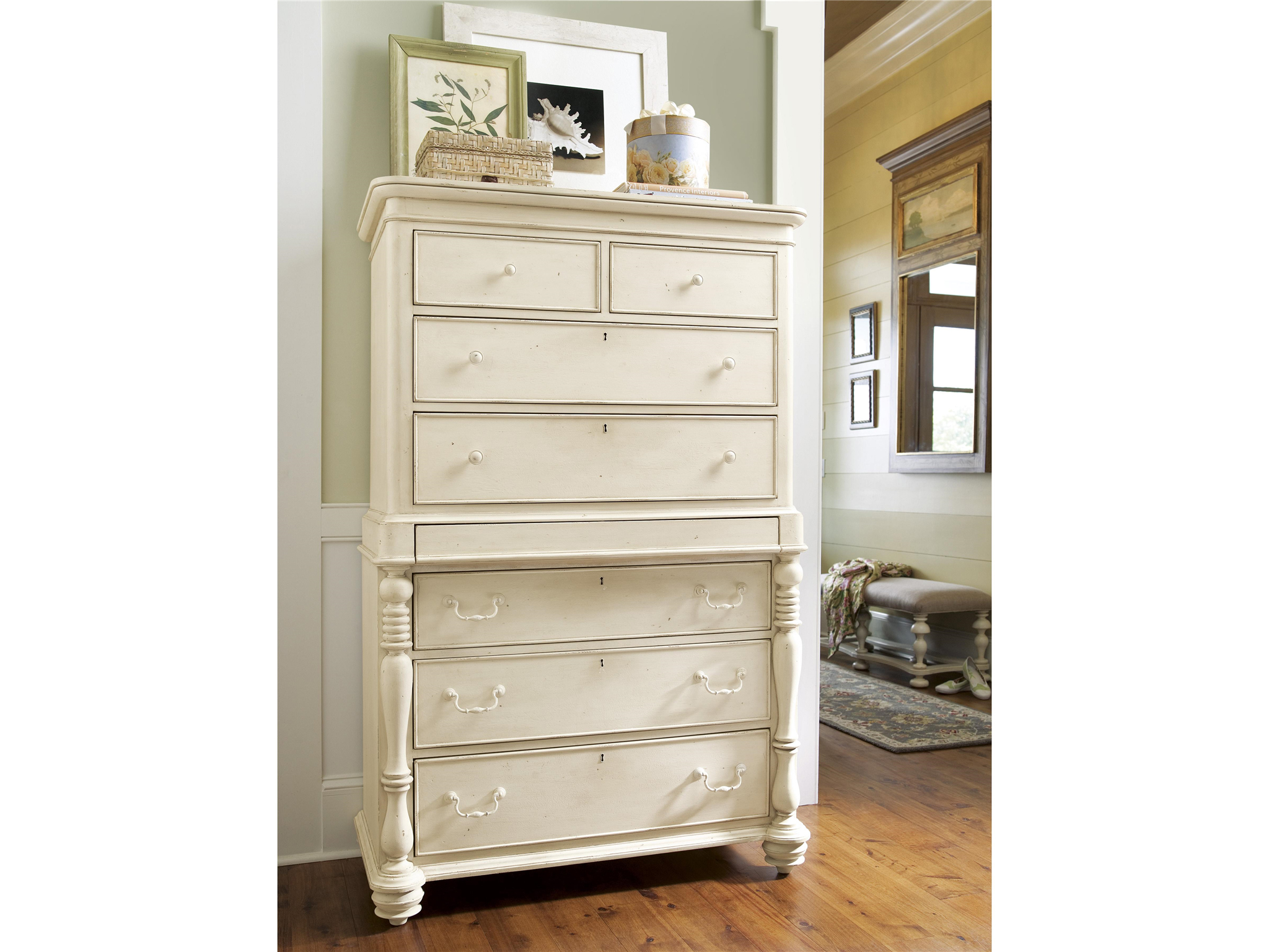 Universal Furniture Paula Deen Home Tall Chest