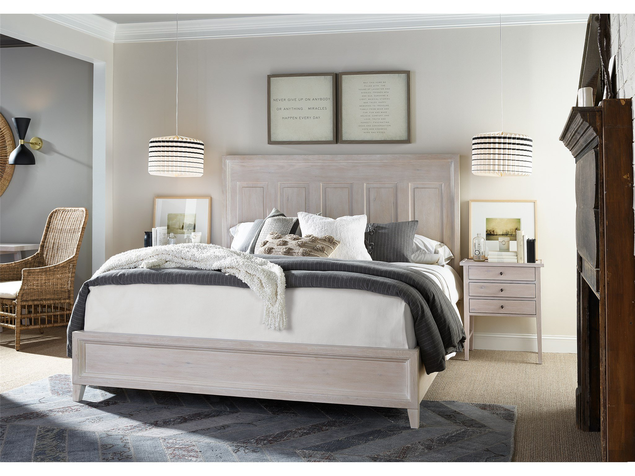 Haines King Bed