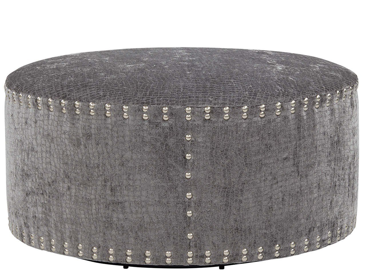 "Pi Cocktail Ottoman 42"" Round - Special Order"