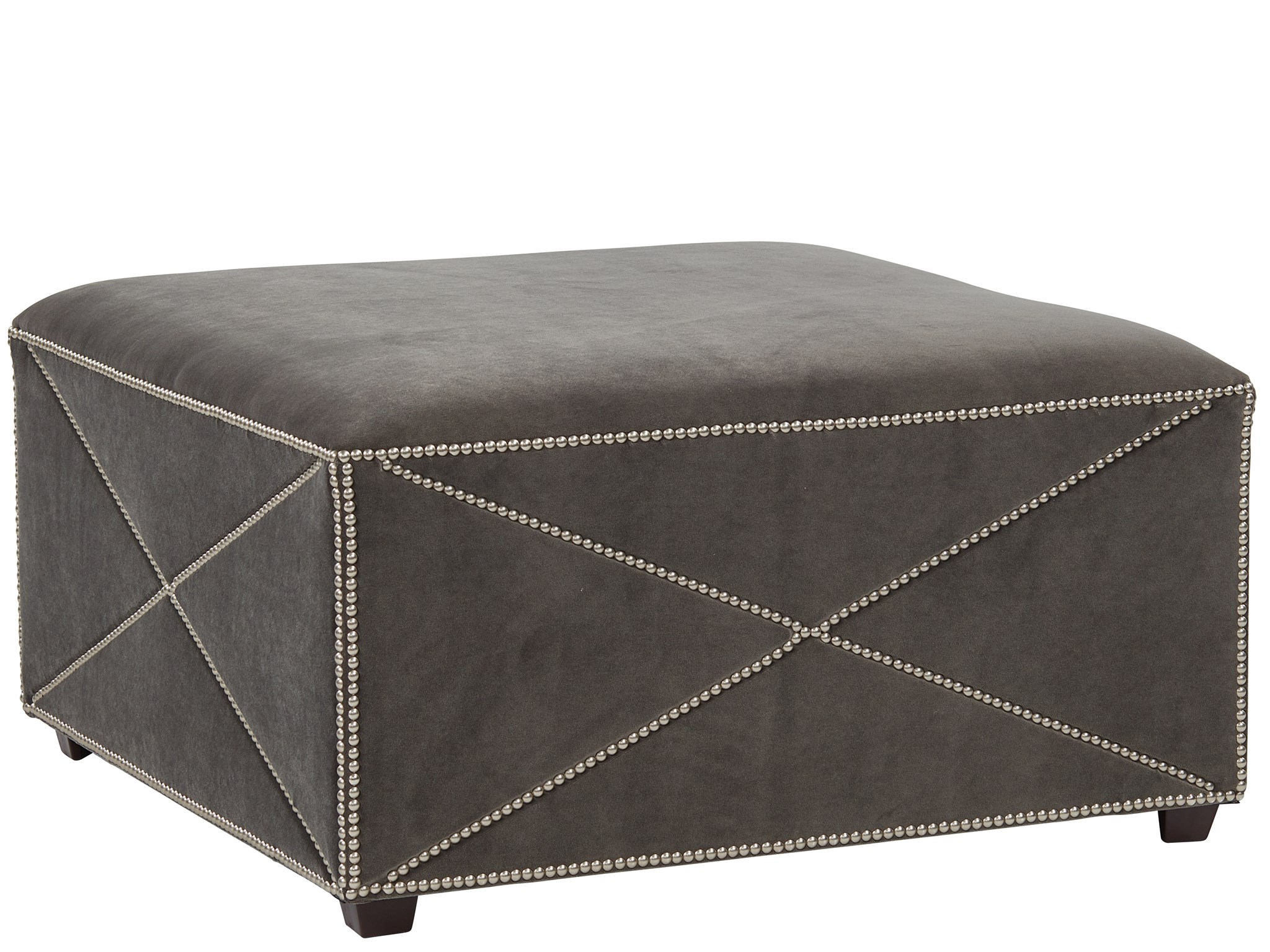 Ripley Square Cocktail Ottoman - Special Order