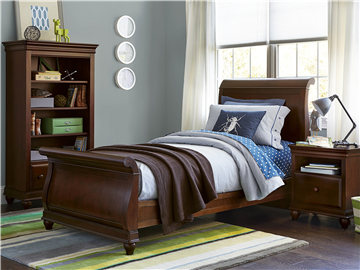 Thumbnail Sleigh Bed (Twin)