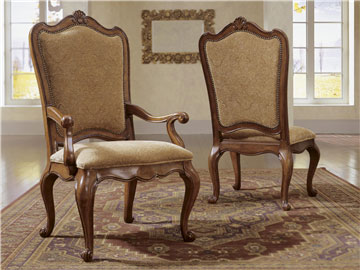 Thumbnail Upholstered Back Arm Chair