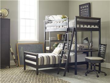 Thumbnail Metal Loft Bunk Bed (Twin)
