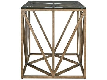 Thumbnail Truss Square End Table