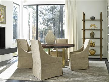Universal Furniture Modern Townsend Castered Dining Chair