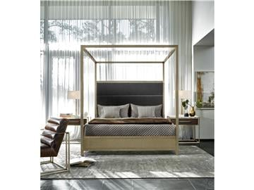 Thumbnail Harlow Cal King Canopy Bed
