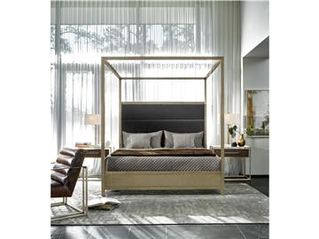 Thumbnail Harlow King Canopy Bed
